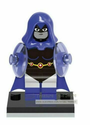 Raven Teen Titans Dc Comics Mini Figure Usa Seller Can Play With Lego`s
