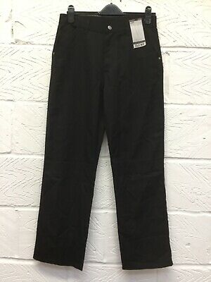 Boys Next Black Jean Style School Trousers Age 15 Years BNWT