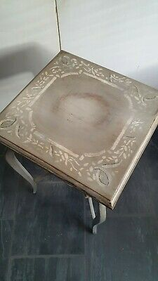Antique Painted Side Table - European Circa 1910
