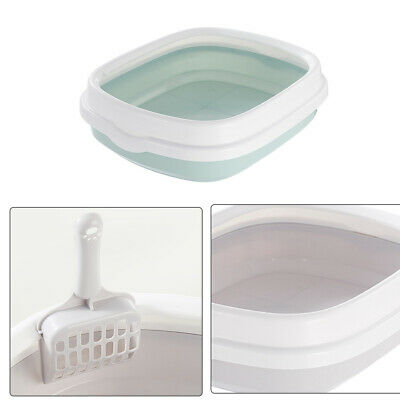 Sand Toilet Bedpan With Scoop Excrement Training PP Pet Supplies Cat Litter Box