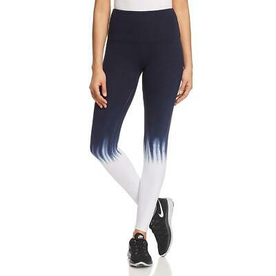Lysse Womens Navy High Waist Shaping Ankle Leggings Athletic M BHFO 5736