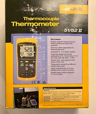 Fluke Thermocouple Thermometer