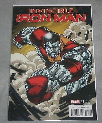 2016 #9 2nd Print Variant NM//M Marvel INVINCIBLE IRON MAN