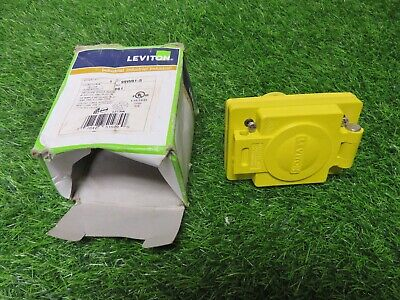 Leviton 99W81-S outlet with cover