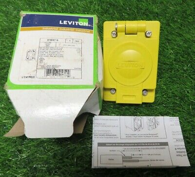 Leviton 97W47-S outlet with cover