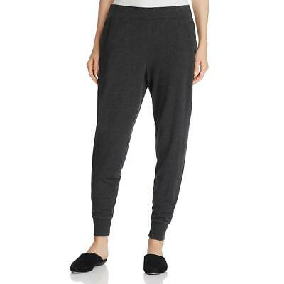 Eileen Fisher Womens Gray Slouchy Heathered Casual Jogger Pants M BHFO 7354