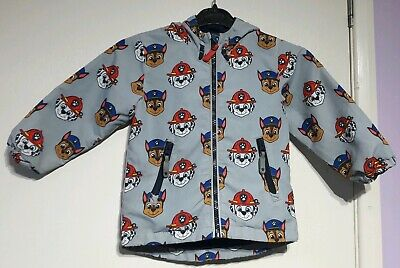 Grey Paw Patrol Printed Hooded Fleece Lined Jacket Age 18-23 Months