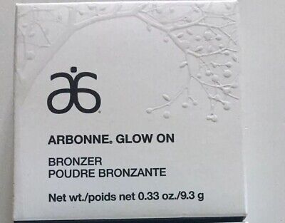 Arbonne Bronzer Glow On Make-up New Boxed