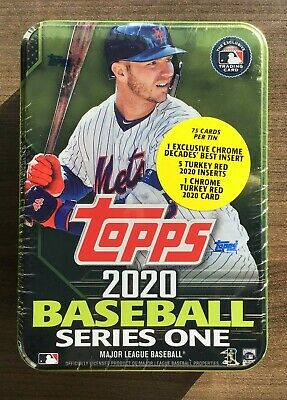 2020 Topps Series 1 Factory Sealed Retail Collectors Tin ~ Pick your Player