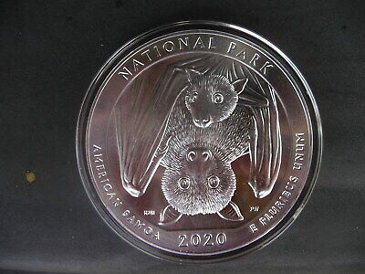 2020 5-ounce silver American Samoa National park quarter in plastic airtite