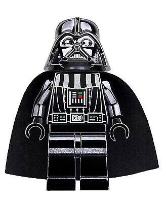 Chrome Darth Vader Star Wars Minifigure Figure Usa Seller New In Package