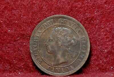 Canada, 1901 Large Cent, Very Fine, Marks, NR,                              2-22