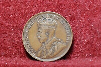 Canada, 1917 Large Cent, KN21, VF+, marks, NR,                              2-22