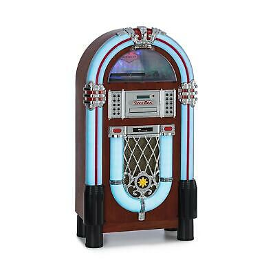 Retro Jukebox Stereoanlage Bluetooth USB MP3 CD Player DAB+ Radio Musik System