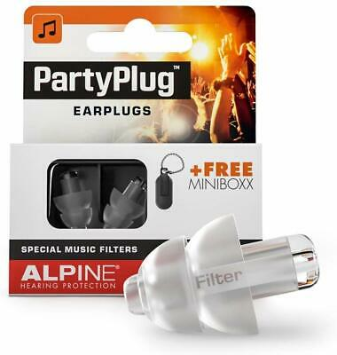 Plug Ear Plugs Hearing Protection for Parties, sic Festivals, Clubs and - - -