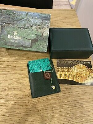 Vintage Rolex Box And Booklets