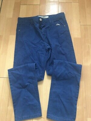 Boys Blue Slim Jeans Age 12-13 Years