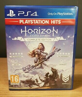 Horizon Zero Dawn Complete Edition Sony Playstation 4 PS4 Game Action Adventure