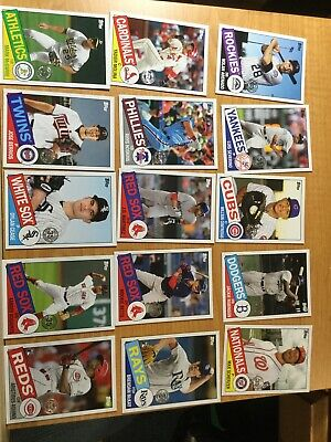2020 Topps SERIES 1 Baseball 35th ANNIVERSARY INSERT LOT OF 15 CARDS J ROBINSON