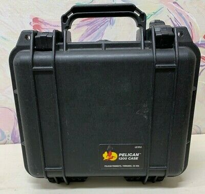 GREAT CONDITION Pelican 1200 Case with foam - Black