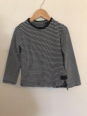 Boys Next Blue & White Stripe Top Long Sleeve Age 3-4 Years