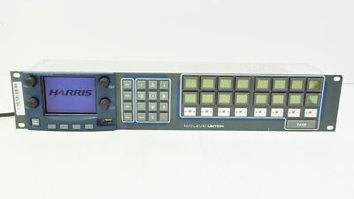 Harris Nucleus Broadcast Audio Video LCD Red Control Panel para X75