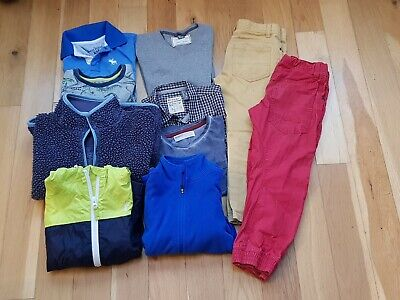 BOYS Clothing BUNDLE 5-6 Years Winter & Spring. Boden,  Next, Zara, Abercrombie
