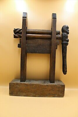 Antique African Old Wooden Hand Carved Sculpture Figurine Very Rare Wood Unique