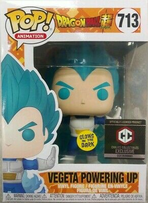 Funko Pop! Dragonball Super Vegeta Powering Up 713 Chalice Collectibles Exc.