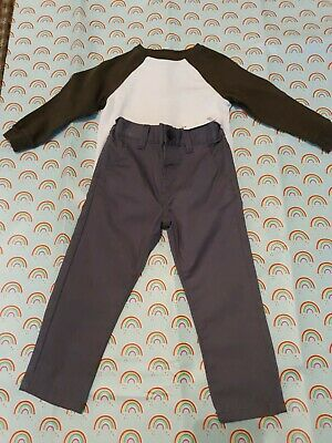 Lovely little boys NEXT Bundle Trousers And Top Bnwt Age 2-3years Bargain