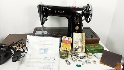Semi-Industrial Singer 201K Elec Sewing Machine, FULLY SERVICED,sews LEATHER