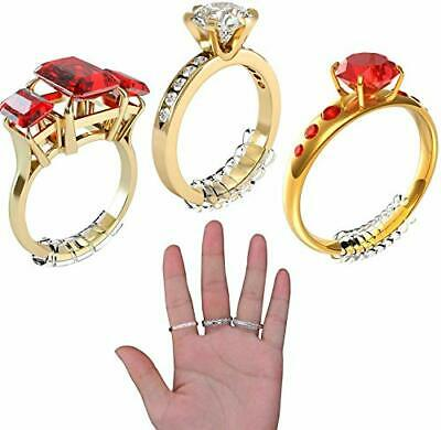 Ring Size Adjuster for Loose Rings Invisible Transparent Silicone Guard Jewel#16