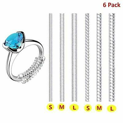 Ring Size Adjuster for Loose Rings Invisible Transparent Silicone Guard Jewel#57