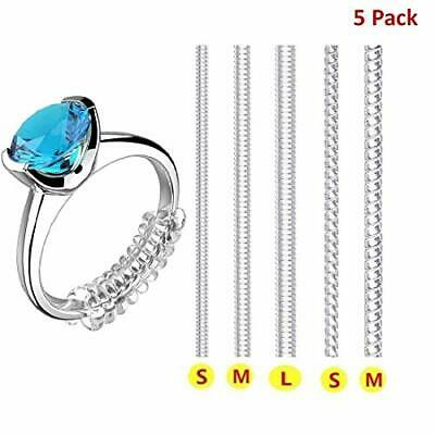 Ring Size Adjuster for Loose Rings Invisible Transparent Silicone Guard Jewel#56