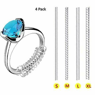 Ring Size Adjuster for Loose Rings Invisible Transparent Silicone Guard Clip #15