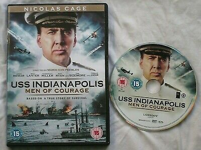 USS Indianapolis: Men of Courage DVD Based on a True WWII Story