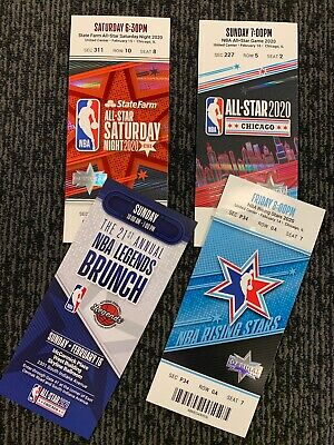 2020 NBA All-Star game full tickets