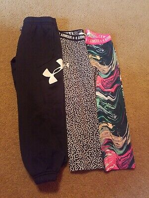 Lot of Girls UNDER ARMOUR Leggings S Small Capri Pants