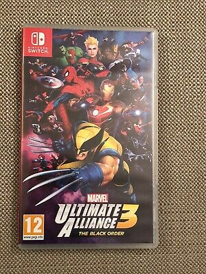 Marvel Ultimate Alliance 3: The Black Order -- Nintendo Switch