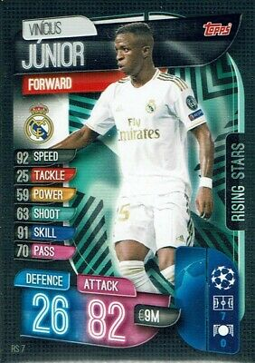 Topps Attax Extra Champions League 2019/20 19/20 Rs 7 rising Stars Junior