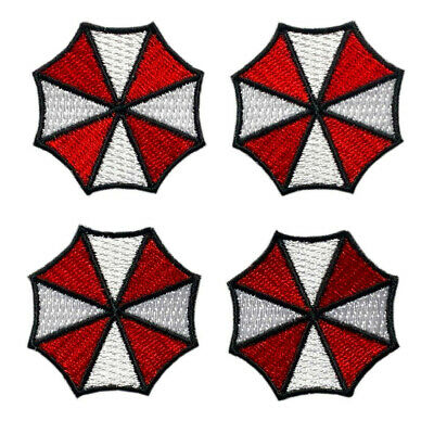 Resident Evil Lavitanuova Red 3.5/'/' Patch Sew or Iron on Badge