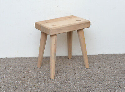 wooden milking stool - FREE POSTAGE