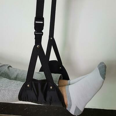Comfy Hanger Travel Airplane Footrest Hammock Made with Premium Memory Foam