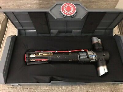 Star Wars Galaxy's Edge Kylo Ren Legacy Lightsaber With Blade