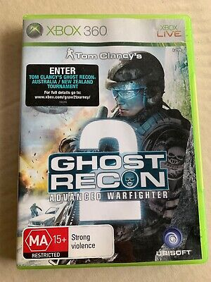 Tom Clancys GHOST RECON : Advanced Warfighter 2 - Xbox 360 Game (PAL) w/ booklet