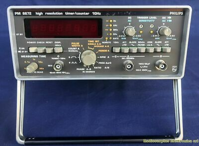 High Resolution Timer /Counter PHILIPS PM 6672