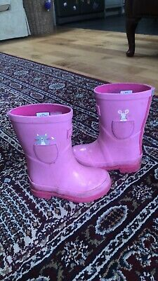 Girls joules wellies size 8