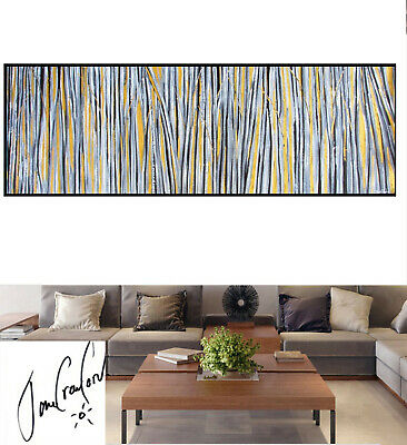 Art Painting Gold fields hand painted Canvas Oil non aboriginal Australia