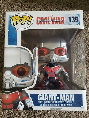 Funko Pop Marvel Captain America Civil War Giant-Man #135 6 Inch