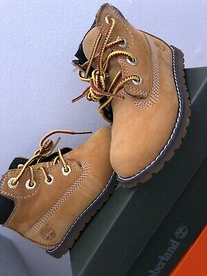 Infant Kids Boys/Girls Tan Timberland Boot